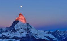 Una coperta di neve sul mondo                   È proprio il Cervino, #casa #home