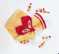 Lapsen kettukaulaliina Novita 7 Veljestä | Novita knits