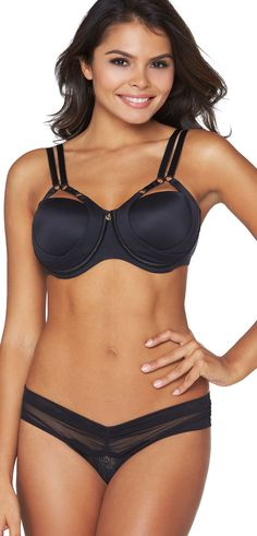 Developed by renowned plastic surgeon Randal Haworth a total reinvention of bra functionality as a solution for sag prevention Bra And Panty Sets, Lingerie Collection, Bra Lingerie, Dark Hair, What To Wear, Beautiful Women, My Style, Lady, Clothes