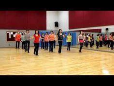 Fireball - Line Dance (Dance & Teach in English & 中文) - YouTube