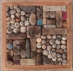 Driftwood wall art from www.ballardwoods.com