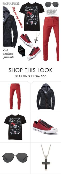 """For you my brother"" by aneetaalex ❤ liked on Polyvore featuring 3x1, Converse, Michael Kors, John Hardy, Nixon, men's fashion and menswear"