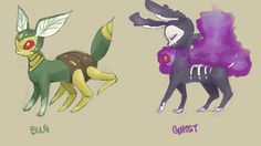 Bug and Ghost type by Dollylonn on deviantART