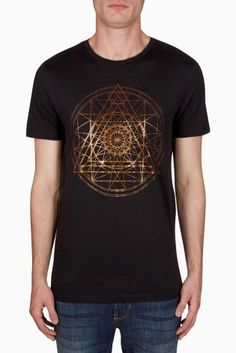 Buy Black Foil Print T-Shirt from the Next UK online shop