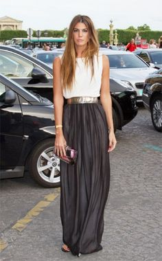 maxi skirt and the belt !! Gorge! they have this similar skirt at Target (I'm gonna go get it haha)