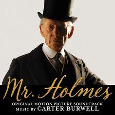 """Mr. Holmes"" movie soundtrack, 2015. Ellie Goulding, Adam Lambert, Lps, Lady Gaga, Angelo Kelly Family, Holmes Movie, Laura Linney, Soundtrack Music, Latin Dance"