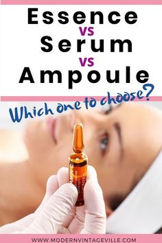 Essence, serum and ampoule should be must have products in your skin care routine. Facial Skin Care, Diy Skin Care, Skin Care Tips, Skin Care Cream, Skin Problems, Organic Skin Care, Good Skin, Healthy Skin, Amazing