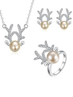 SHARE & Get it FREE   Christmas Elk Rhinestone Jewelry SetFor Fashion Lovers only:80,000+ Items • New Arrivals Daily • Affordable Casual to Chic for Every Occasion Join Sammydress: Get YOUR $50 NOW!