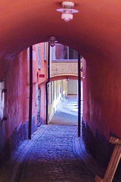 https://flic.kr/p/DaF8wL | Stockholm 96 - Vieille ville, Stenbastugränd