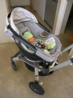 Sean in the Orbit stroller   (Loving this stylish stroller | Amazing functionality)