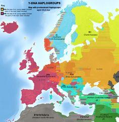 Haplogroups europe - Haplogroupe R1a (Y-ADN) — Wikipédia