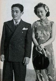 昭和13年(1938)エノケンと18歳の李香蘭。戦前~戦後のレトロ写真(@oldpicture1900)さん | Twitter