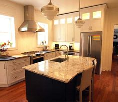 Kitchen Remodel With Island In Chatham, NJ. Designed By Kitchen Intuitions  In Chatham,
