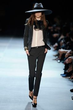 Photo 18 of 20 Paris Fashion Week Looks That Stole The Show - suit by YSL