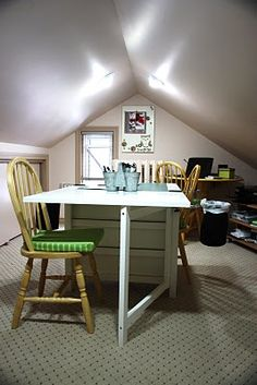 Craft room of Sarah Hodgkinson