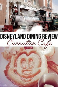 Cafe Breakfast at Disneyland Resort in California A look at one of my favorite places to grab breakfast at Disneyland - the Carnation Cafe at Disneyland resort in California! Disneyland Dining, Disneyland Food, Disney Dining, Disneyland Resort, Disneyland California, Disneyland Secrets, Disney Secrets, Disney Tips, Disney Food