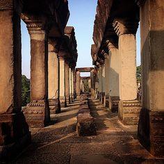 The pillars of Baphuon temple, Angkor Thom, Angkor, Cambodi. Temple mountain built as a state temple of Udayadityavaraman II dedicated to Shiva. - #temple #Angkor #AngkorWat #angkorthom #SiemReap...