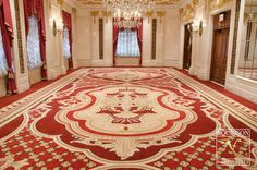Regis Versailles Room, New York City Axminster Carpets, Nyc Hotels, Co Working, Grand Staircase, Tile Design, Versailles, Hospitality, Floors, Spaces