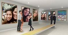 Como seria uma exposição de arte sua em um museu?