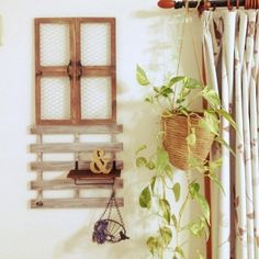 nana's room photo about My Shelf,植物,100均,DIY,手作り,リメイク,セリア,すのこ,DIY~私の場所, - RoomClip