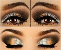 Gorgeous eye makeup for the new year