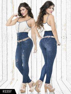 Jeans Tallaje Alto Levantacola Colombiano Tabbachi SIZE 7 USA