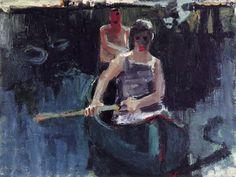 Canoe, 1957 David Park