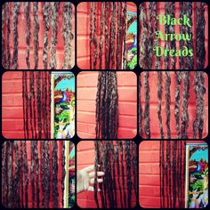 Experimental textural dreads made here at black arrow dreads #blackarrowdreads