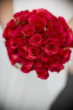 Hand Tied Bouquet of Hybrid Tea and Spray Roses