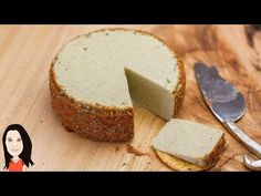 Herb & Garlic Almond Vegan Cheese - It Slices & Melts! - YouTube