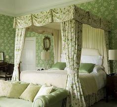 Emily Todhunter and Kate Earle Ballinlough Castle - English garden bedroom