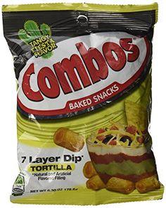 Combos 7 Layer Dip Tortilla Baked Snacks 6.30 oz Combos…