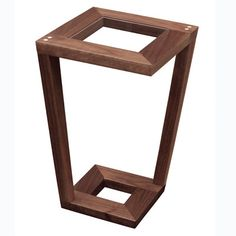 Harris Side Table by Tronk Design @ - Modern Living Small End Tables, Modern End Tables, Side Tables, Modern Furniture Online, Fine Furniture, Wood Harris, Tea Table Design, Small Space Living, Modern Living