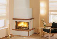 Manteau de cheminée contemporain / en marbre / en bois / d'angle SALONICCO PALAZZETTI LELIO