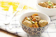 albondigas salsa curry paleo