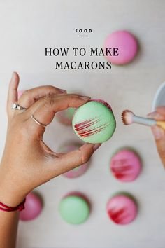 ... Macarons on Pinterest   French macaroons, How to make macarons and