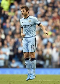 Frank #Lampard formerly of #Chelsea now with #Manchester City.