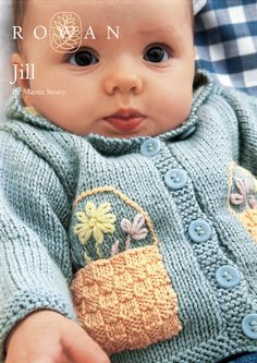 Jill Cardigan in Rowan Baby Merino Silk DK. Discover more Patterns by Rowan at LoveKnitting. We stock patterns, yarn, needles and books from all of your favorite brands.
