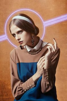 'The Way of Bizantinum' Natasha. (Marco D'Amico, Marco Grisolia) VOGUE Italia December 2012.