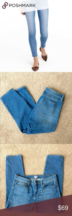 ❗️J. Crew Crop Ankle Denim MSRP $118! ❗️J. Crew Crop Stretch Ankle Denim. Size 30. Retails $118. In great condition! Feel free to make an offer! Selling to the first reasonable offer i receive ;-) OR, buy 1 item at list price get 2nd item of lesser value FREE! ;-) J. Crew Jeans Ankle & Cropped