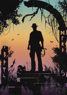 Indiana Jones by Victoria Shatilova