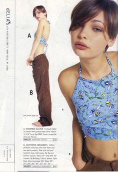 52 - I had this issue! You have no idea how badly I wanted this whole outfit! Source by ocookieblue - Retro Fashion, Vintage Fashion, Cheap Fashion, 90s Teen Fashion, 90s Fashion Grunge, Early 2000s Fashion, Look Retro, Fashion Catalogue, Facon