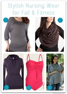 Stylish Nursing Wear for Fall & Fitness: Your Body Deserves the Best While Giving the Best