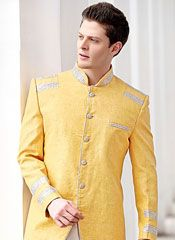 We offer extensive collection of men's wedding Sherwanis. The unnatiexports is best store for buy online wedding sherwani, groom sherwani, Indian sherwani.