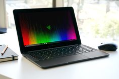 Razer has announced an upgraded version of its inch Razer Blade Stealth laptop. The company's now updating the Windows 10 machine with a seventh-generation Intel Core processor and longer battery life. Newest Macbook Pro, New Macbook, Computing Display, Notebooks, Razer Blade, Pink Laptop, Cyber Monday Deals, New Laptops, Desktop Accessories