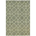 Contour Sage (Green) 7 ft. 3 in. x 9 ft. 3 in. Area Rug