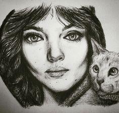 Selina Kyle, Gotham drawing