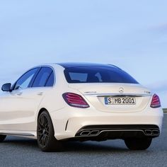 """The @MercedesAMG tradition of """"one man, one engine"""" continues with the hand-assembled 4.0-liter biturbo V-8 in the all-new Mercedes-AMG C63.  #Mercedes #Benz #C63 #AMG #Sedan # instacar #carsofinstagram #germancars #luxury #2015CClass"""