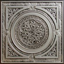 The Steampunk movement creatively blends elements of modern technology, science fiction, and Victorian fashion. Our 225 Steampunk faux tin drop - in ceiling tile is a fun tribute to the Steampunk styl