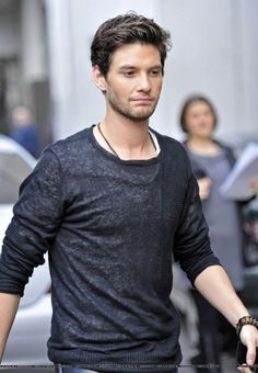 Love simple sweaters like these! oh look it's Ben Barnes... Such a cutie ;)